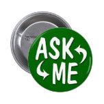 Green Ask Me Button / Arrows