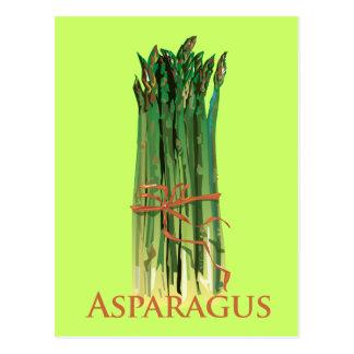 Green Asparagus Postcard