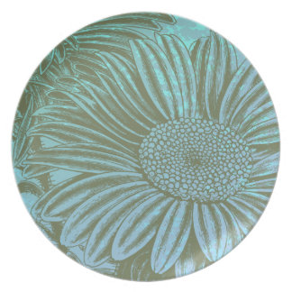 Green Aster Plate