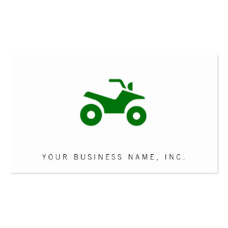 Green ATV Sign Business Card