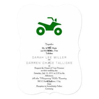 Green ATV Sign Card