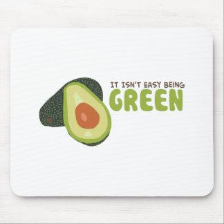 Green Avacado Mouse Pad