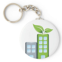 Green Awareness Gifts Keychain