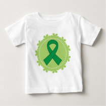 Green Awareness Ribbon Gift Idea Baby T-Shirt