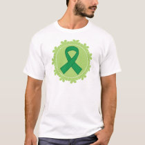 Green Awareness Ribbon Gift Idea T-Shirt