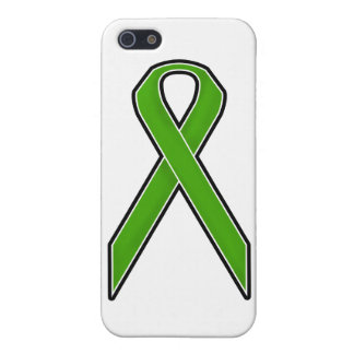 Green Awareness Ribbon Cases For iPhone 5