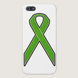Green Awareness Ribbon iPhone SE/5/5s Case