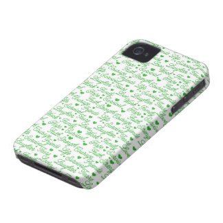 Green Awareness Words BlackBerry Bold Case