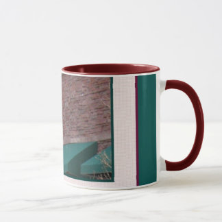 Green Awning & Lamppost Coffee & Tea Mug
