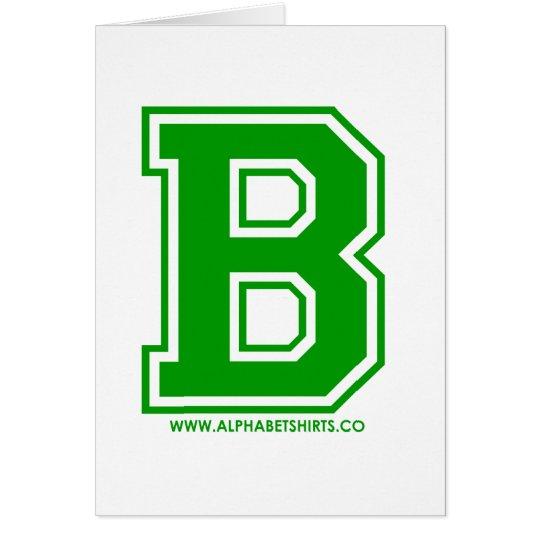 Green B Card