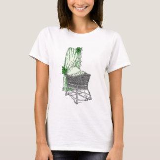 Green Baby Bassinet T-Shirt