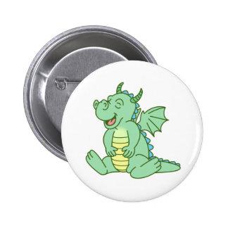 Green Baby Dragon Pin