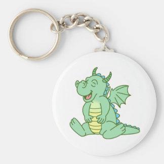 Green Baby Dragon Key Chain