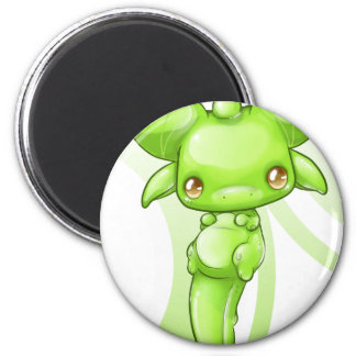 Green Baby Dragon Magnet
