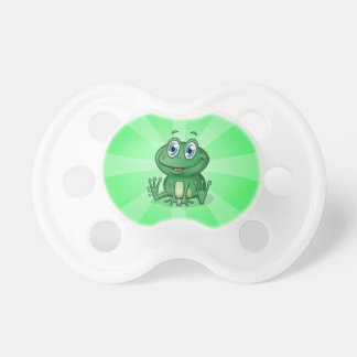 Green Baby Frog Pacifier