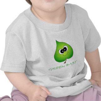 Green Baby Leaf Shirts