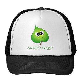 Green Baby Leaf Trucker Hat