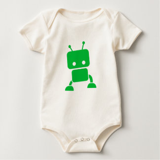 Green Baby Robot Baby Clothes Baby Bodysuit