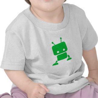 Green Baby Robot Baby Clothes Shirts