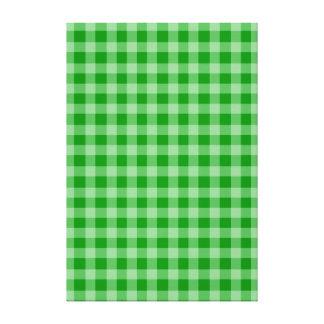 Green Background Canvas Print