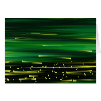 Green background card