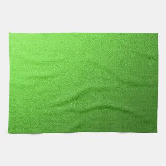 green background kitchen towels