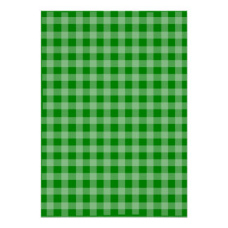 Green Background Poster