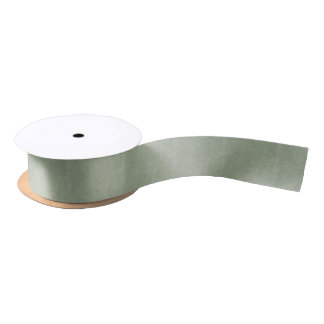 Green Background Satin Ribbon