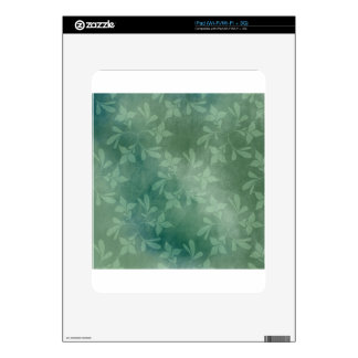 Green background skin for the iPad