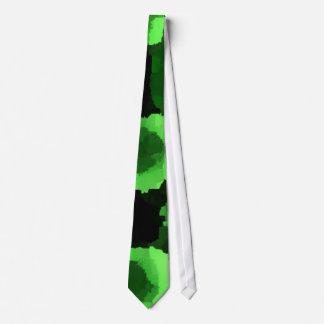 Green Bacteria Necktie