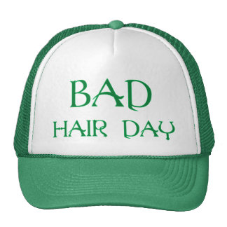 Green Bad Hair Day Hat