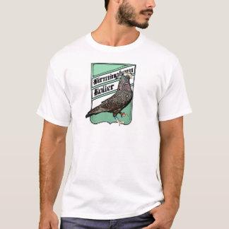 Green Badge for Birmingham Roller Fanatics T-Shirt