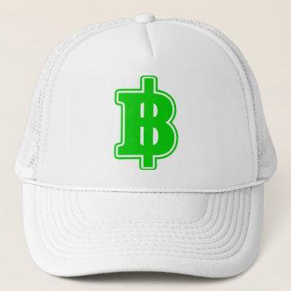 GREEN BAHT SIGN ฿ Thai Money Currency ฿ Trucker Hat