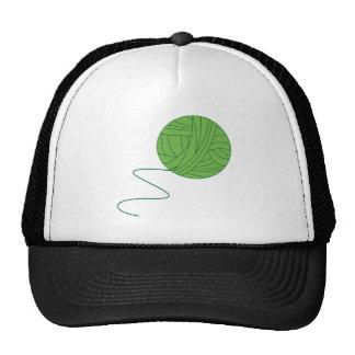 Green Ball of Yarn Hat