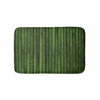 Green Bamboo Bathroom Mat