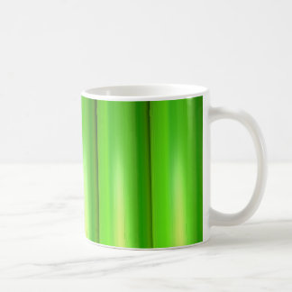 Green bamboo coffee mug