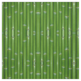 Green Bamboo Custom Fabric