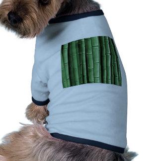 Green Bamboo Dog Shirt