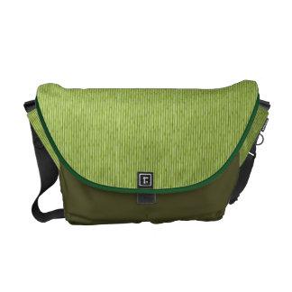 Green Bamboo Messenger Bag