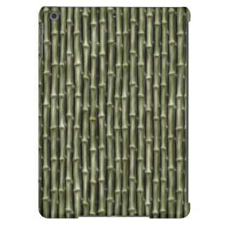 Green Bamboo Nature Pattern iPad Air Cases