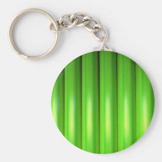 Green bamboo set keychain