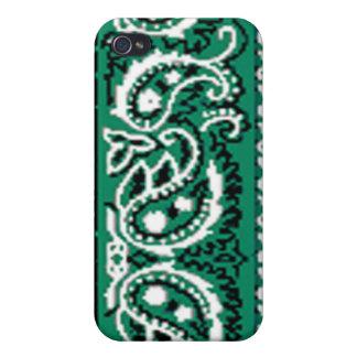 Green Bandana -- I iPhone 4/4S Covers