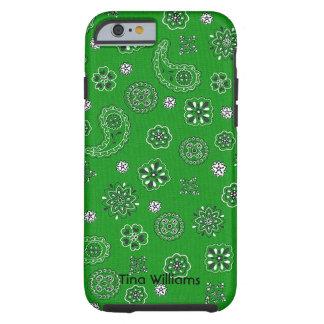 Green Bandana iPhone 6 case