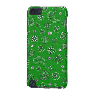 Green Bandana iPod Case iPod Touch (5th Generation) Cover