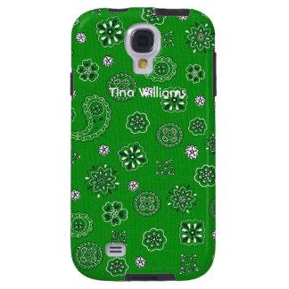 Green Bandana Samsung Galaxy S4 Case