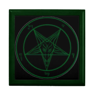 Green Baphomet Gift Box
