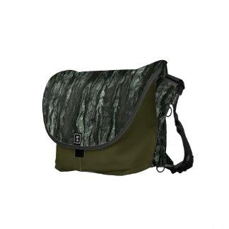 Green Bark Camo Messenger Bag