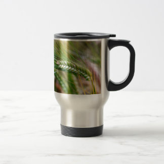 Green Barley Travel Mug