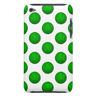 Green Basketball Pattern iPod Touch Case