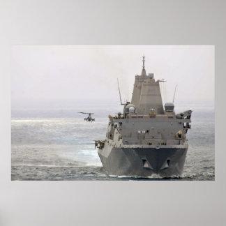 Green Bay de USS (LPD 20) Poster